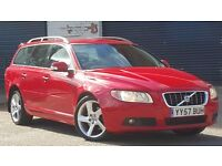 2007 Volvo V70 2.4 D5 SE SPORT 5dr ++ SAT NAV ++ FULL LEATHER ++ 1 OWNER ++