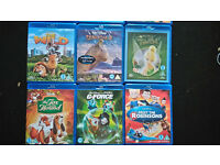 14 Disney blu ray including 3D cars bolt frankenweenie tinkerbell princess and frog fantasia wild