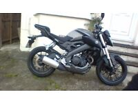 yamaha mt125 abs 2015 one owner full service history