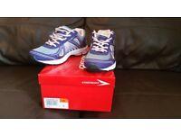 Ladies Osaga Appro Trainers Purple/Grey Size 4
