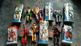 Lego knights kingdom figures