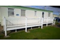 CARAVAN DECKINGS AND VERANDAS ,SUPPLY FIT,NEW OR USED DECKINGS UPTO A 100 MILE DISTANCE . 4 PRICES