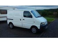 UPDATED Suzuki carry van WHITE