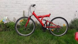 **GILLIE**BICYCLE**BIKE**FULLY RIDEABLE**NEW TYRES**