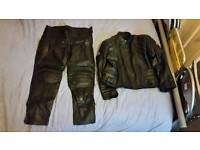 Genuine Mens Motorbike Leathers