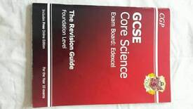 GCSE science revision guides
