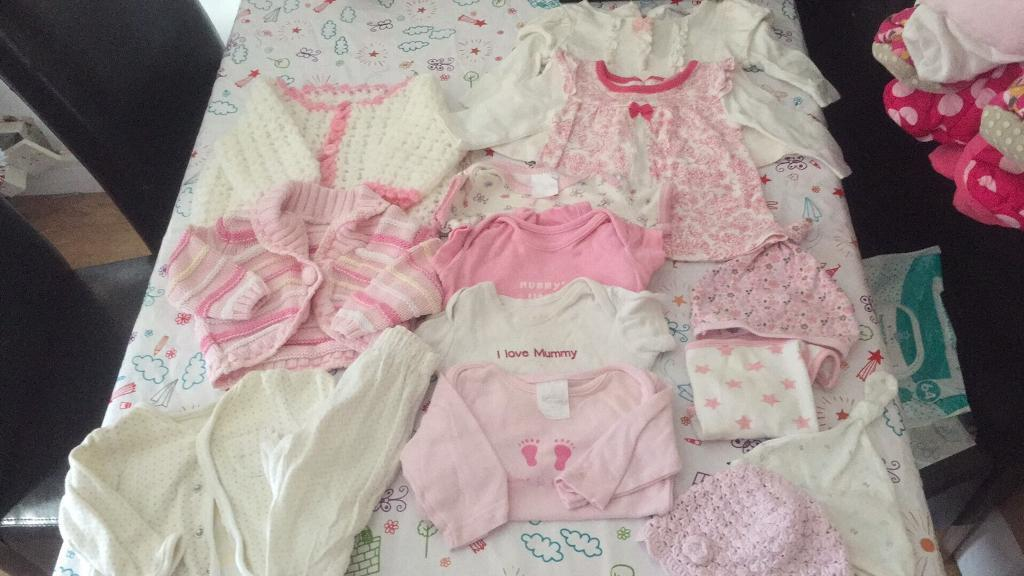 0-3 Girls Bundle with snow suits