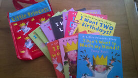 Little Princess Collection -10 books in a carry bag