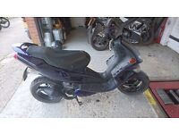 SPEEDFIGHT 50CC FULL MOT AND LOGBOOK 45MPH