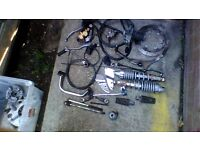 YAMAHA ENTICER 125 VARIOUS PARTS ( SEE PICTURES)