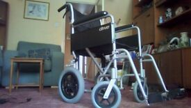 Wheel chair air pressure tyres only 3 months old as new with original receipt