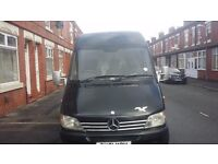 Mercedes sprinter mwb high top 2002