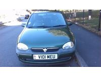 Vauxhall CORSA 1.2 Very reliable Car, 490 ONO