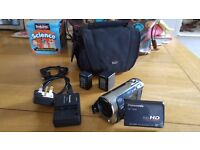 Full HD (1920x1080) Panasonic HDC-TM60 Camcorder with Built-In 16GB Memory and 35x Zoom