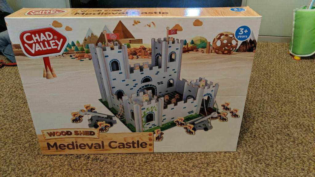 Chad Valley Wood Shed Castle Playset In Knottingley West Yorkshire Gumtree