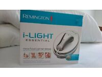 Remington i light hair removal system, boxed with instructions