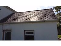Roof cleaning expert treatment DO NOT POWER WASH.... SOFTWASH safe, effective and gentle. No damage!