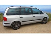 Volkswagon Sharan, 2.0ltr petrol, 2003, Silver, 7 Seater / VW Sharan / SWAP OR PART EX FOR CLEAN VAN