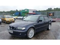 2004 (04 Reg) BMW 3 Series 2.0 320d ES 4dr £995, Mot'd until 07/09/2016 with 3 Months Warranty