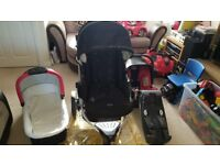 Britax b smart £80 complete system new born to 2yrs