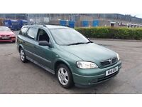 2000 (W Reg) Vauxhall Astra 1.8 CDX Estate For Sale £295! Mot'd until 28/09/2016 PX to Clear!