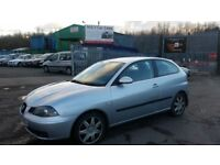 2006 (06 reg), Seat Ibiza 1.9 TDI Sport 3dr Hatchback FOR SALE £795 SOLD WITH 12 MONTHS MOT