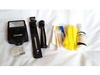 Zeikos ZE-DS12 slave flash plus accessories