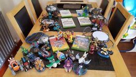 Skylanders games ALL starter packs
