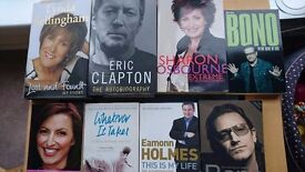 11 Various Books For Sale 2.00 each or all for 20.00