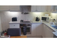 Stoves Electric oven and gas hob and cooker hood extractor
