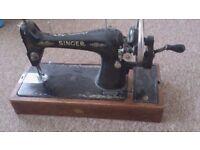 sewing machine singer,