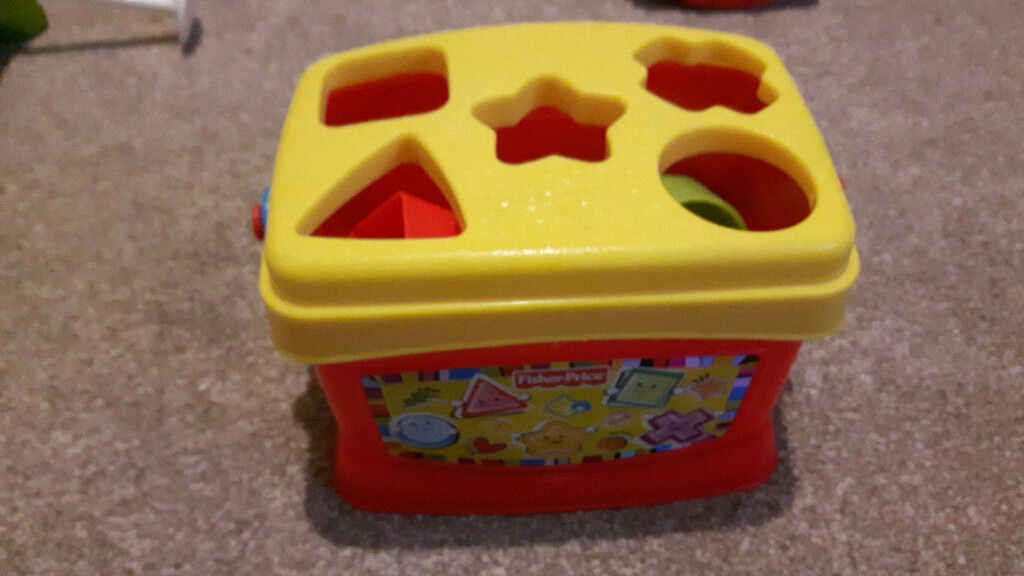 baby toy fisher price shape sorterin Downend, BristolGumtree - baby toy fisher price shape sorter All complete Please see my other baby items
