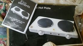 double hot plate £15