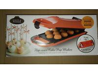 Giles & Posner Electric 180° Flip Over Cake Pop Maker Dessert Non Stick 12 Holes