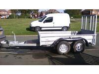 plant / mini digger trailer 8.ft x 4.ft