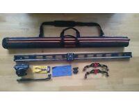 Konova K7 - camera slider 120cm + Manfrotto MVH500AH fluid head