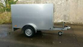 New 7 X 4 box trailer stamped factory made Cookstown