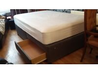 Double Divan Mattress with Base