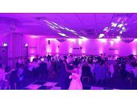 Wedding reception lighting hire