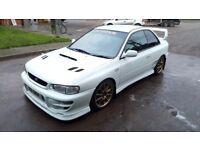 1998 Subaru Impreza STI V4 Type R 2 door JDM Import, Evo, Supra, Skyline, M3, rally