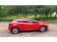 Vauxhall astra gtc 2.0 sri cdti 13 plate