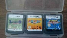 Nintendo ds games, Mario sonic etc