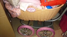 Anna Bell pram great condition at 30 pounds. Keep your daughter happy this Christmas