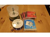 CD-R, DVD-R, CD-RW, Wallets, used for sale  Berkshire