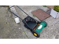 Rotary push mower -£15 - bargain