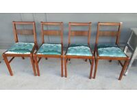 Set Of 4 Dining Chairs in Great Condition
