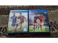 Playstation 4 Fifa 15 & 16