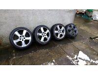 5 stud Vauxhall alloys *£35 no offers*