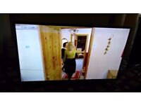 SAMSUNG 40 LED TV SLIGHT FAULT/SMART/UHD 4k/WIFI/FREEVIEW HD/MEDIA PLAYER/24P/ AS NEW NO OFFERS