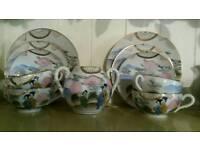 Chinese tea set and sake set